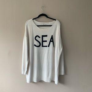 """Loft """"Sea"""" Sweater"""